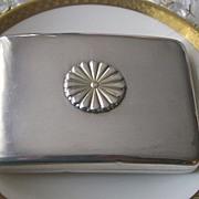 950 Sterling Silver Art Deco Card/Cigarette Case