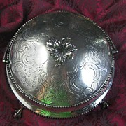 Antique Sterling Covered Bowl/Dish by Daniel & Charles Houle
