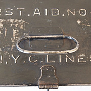New York Central Lines First Aid Box
