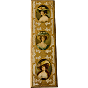 Italian Florentine Picture of 3 Women