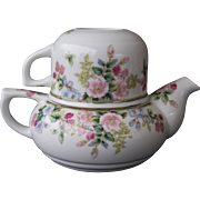 Teapot and Cup for One