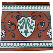 Minton, Hollins, & Co Encaustic Tile
