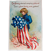 Early Veteran's Day Postcard, 1912
