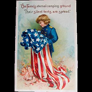 Early Veteran's Day Postcard, 1912