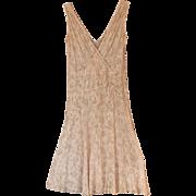 1920's Ecru Lace Dress