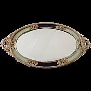 Vintage Ormolu Mirror Vanity Tray, Japan