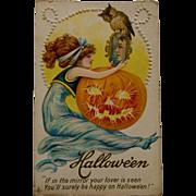Early Century Halloween Postcard