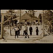 Mt Mansfield Ski Postcard, The Octagon, 1940