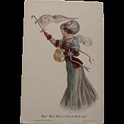 Columbia University Postcard,1906