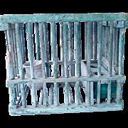 19th Century Coal Mine canary Cage