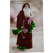 Romanian Santa Postcard, Early Century