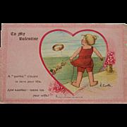 1907 Tuck's Valentine Postcard