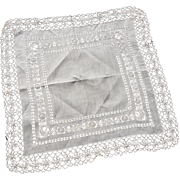 Victorian Wedding Hanky