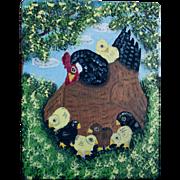 Folk Art Painting, Menno Z Shirk