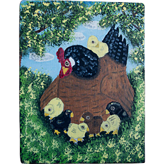 Folk Art Painting, Menno Z Shirk