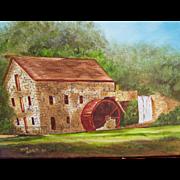 Folk Art Painting, Wayside Inn , Mass