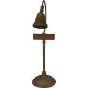 Vintage El Camino Real Mission Bell Guide Post