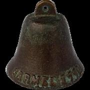 Vintage Bronze Mission Bell, Carmel