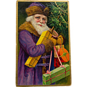Purple Suit Father Christmas, 1909