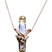 Sterling Fairy Pendant with Fairy Dust