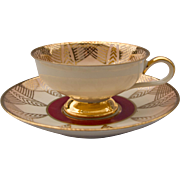 Demitasse Set by Rudolf Wachter, Bavaria