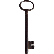 Large Skeleton Key for Door