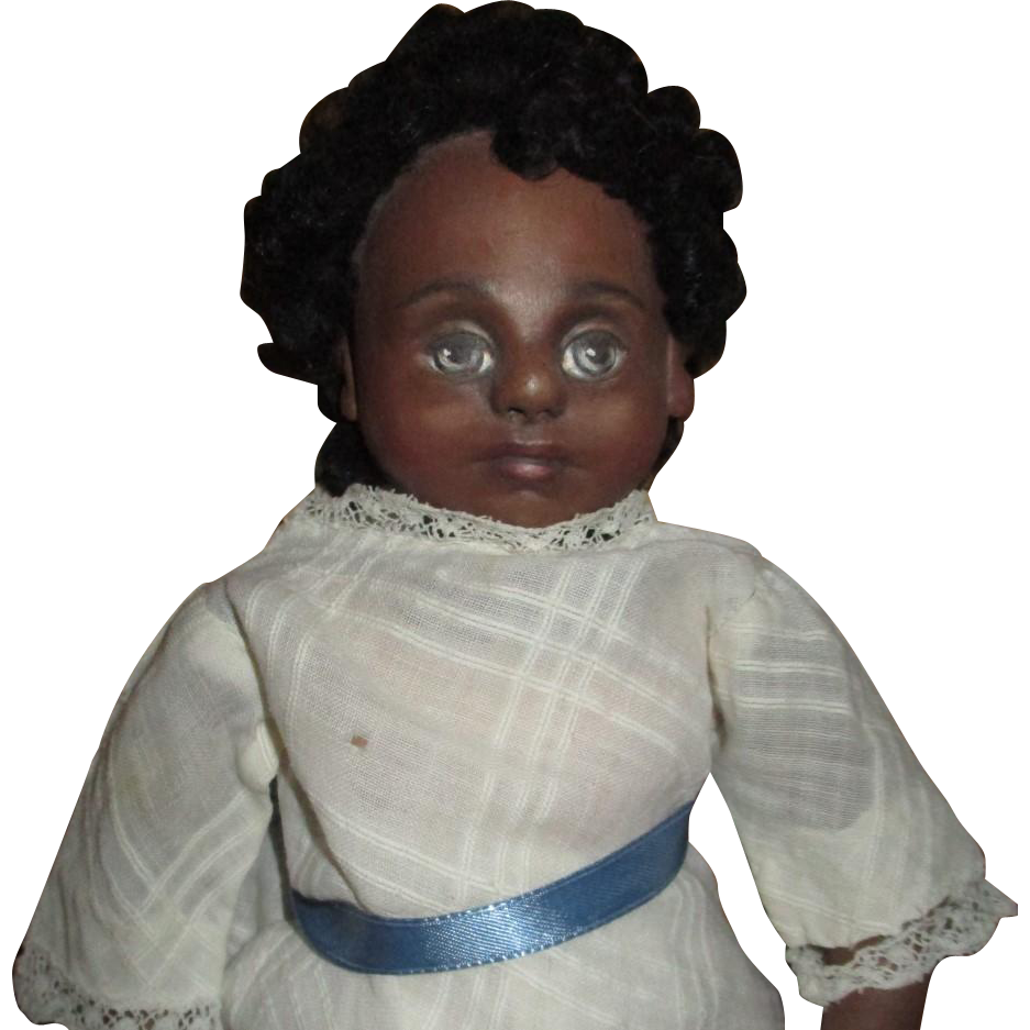 Wonderful Black doll OOAK sculpt