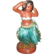 Great chalkware Hula girl