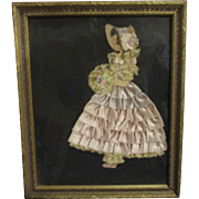 Beautiful vintage Ribbon paperdoll