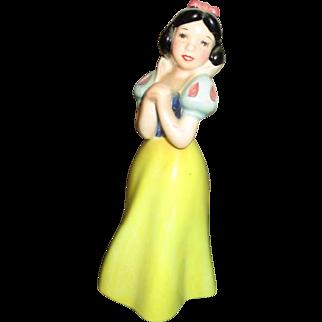 Adorable vintage Snow White figure