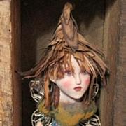 Primitive Fairy sculpted by Jude Kapron