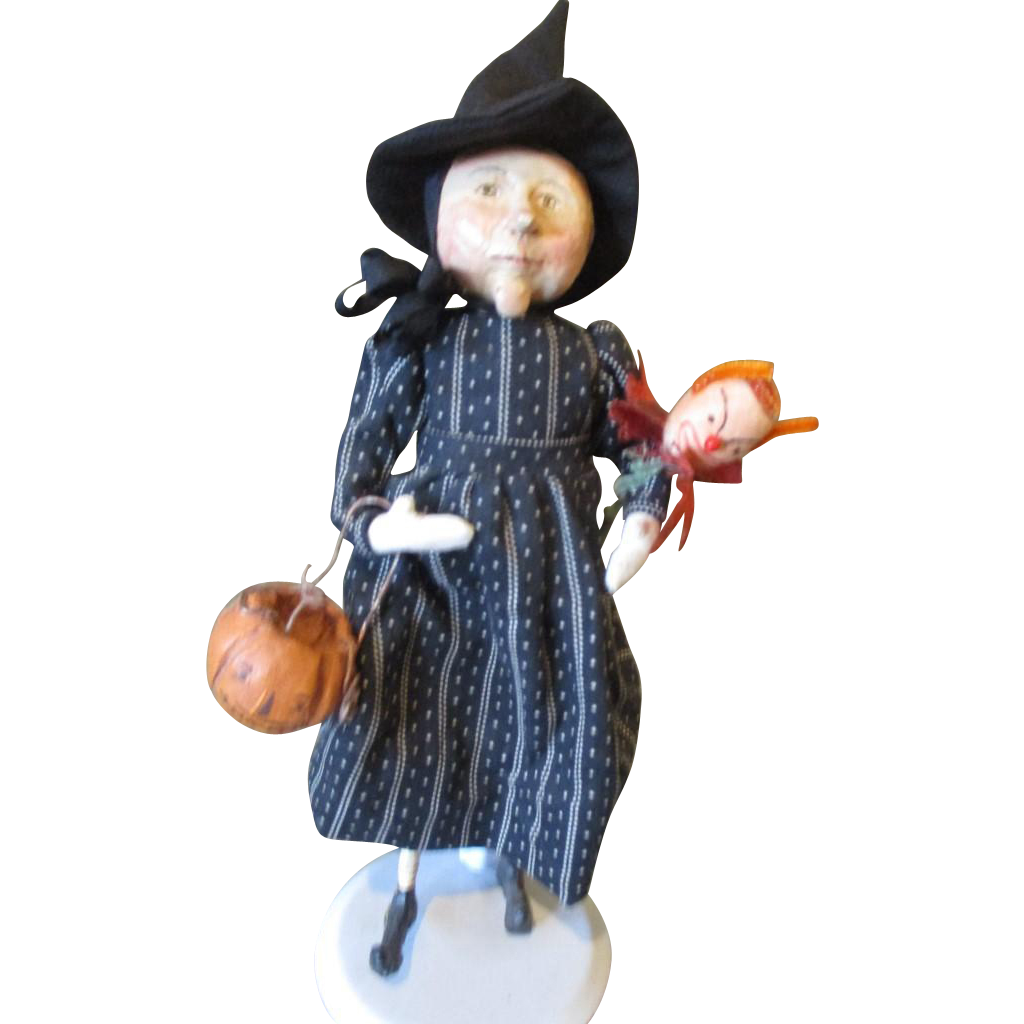 Spellbing  witch by Pat Caska OOAK