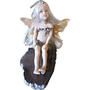 Sweet Fairy child hand sculpted by Katrina Gray