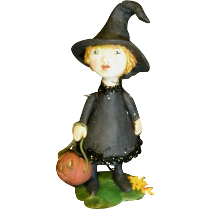 Sculpted Witch by Jude Kapron OOAK