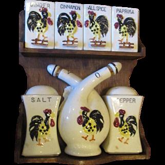 Wonderful Rooster spice set
