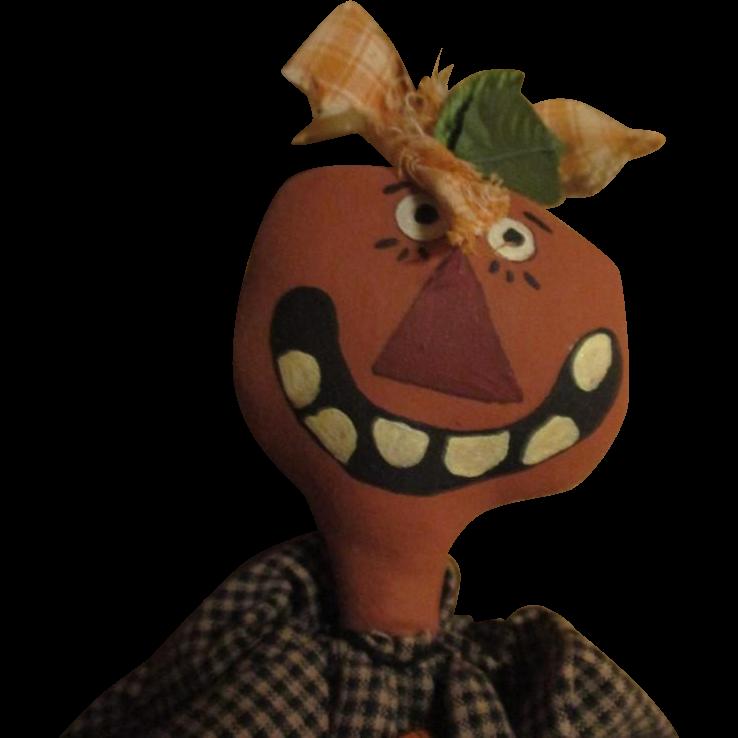 Halloween Pumpkin doll