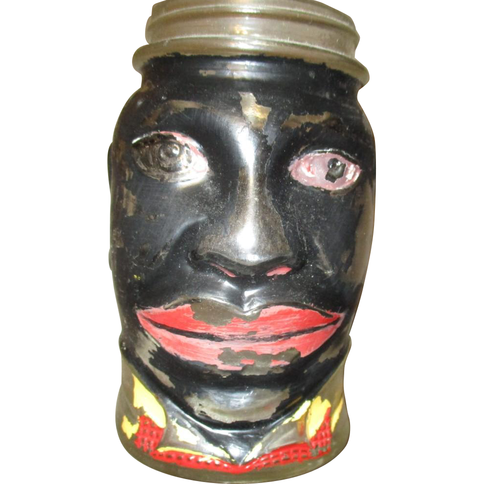 Amazing Black man jar