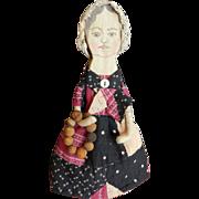 Wonderful doll by Alena Sinel ~ Primitive wooden spoon doll