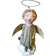 Primitive Angel sculpted by Jude Kapron OOAK