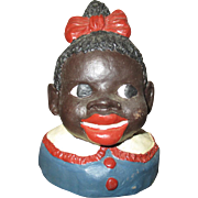Sweet Black girl jar lid