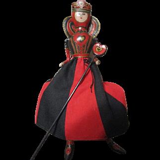 Queen of hearts artist doll OOAK