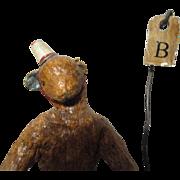 Adorable sculpted artist Teddy Bear