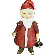 Santa Primitive art doll~OOAK by Jude Kapron