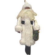 Darling sculpted Santa OOAK