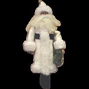 Darling sculpted Santa OOAK