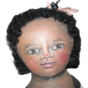 Darling Black doll by sue Sizemore