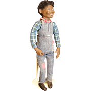 Charming sculpted artist doll by Burnell OOAK