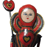 Queen of hearts artist doll OOAK