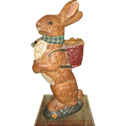 Adorable Bunny rabbit chalkware