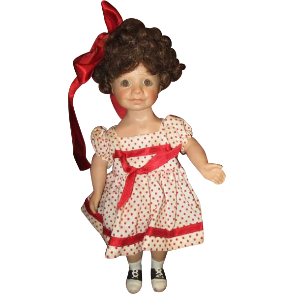 Doll all bisque by Jude Kapron